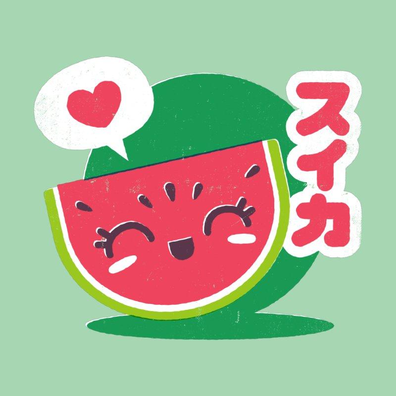 Watermelon Love Men's T-Shirt by chrissayer's Artist Shop