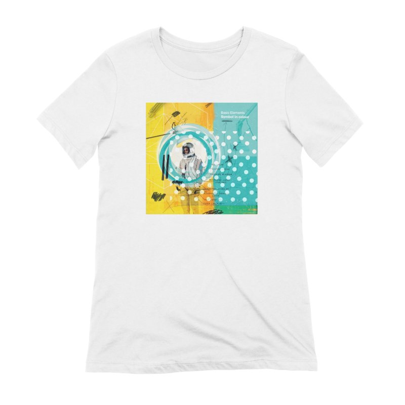 Symbol in colour Women's Extra Soft T-Shirt by chrissayer's Artist Shop