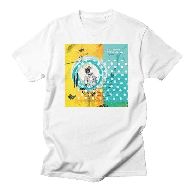 Symbol in colour Men's Regular T-Shirt by chrissayer's Artist Shop
