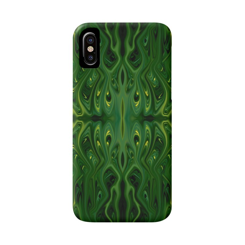 Corn Field Squid by Chris Sparks Accessories Phone Case by Chris Sparks' Abstract Art Shop