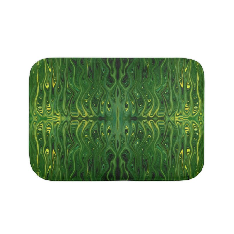 Corn Field Squid by Chris Sparks Home Bath Mat by Chris Sparks' Abstract Art Shop