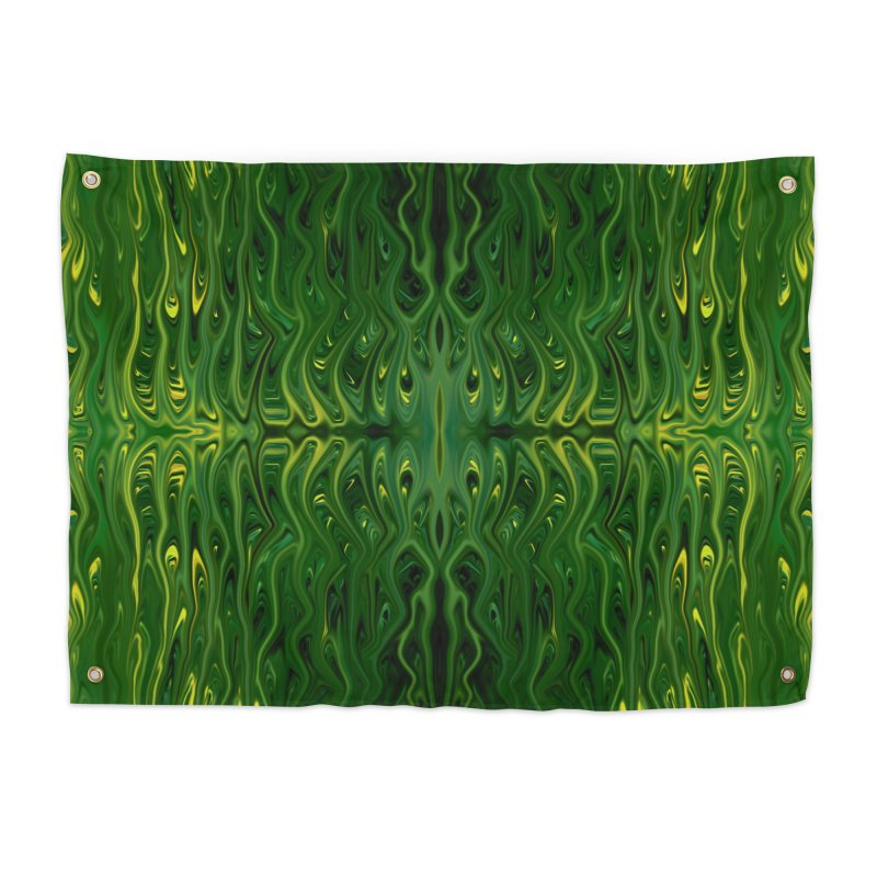 Corn Field Squid by Chris Sparks Home Tapestry by Chris Sparks' Abstract Art Shop