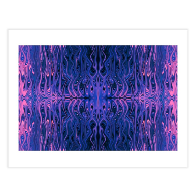 Bubblegum Squid by Chris Sparks Home Fine Art Print by Chris Sparks' Abstract Art Shop