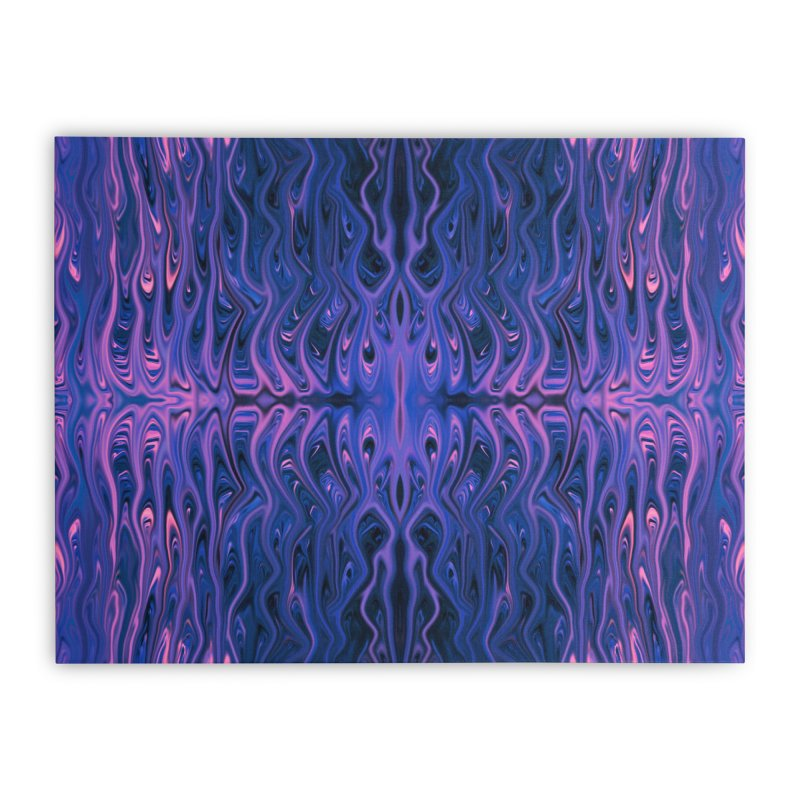 Bubblegum Squid by Chris Sparks Home Stretched Canvas by Chris Sparks' Abstract Art Shop