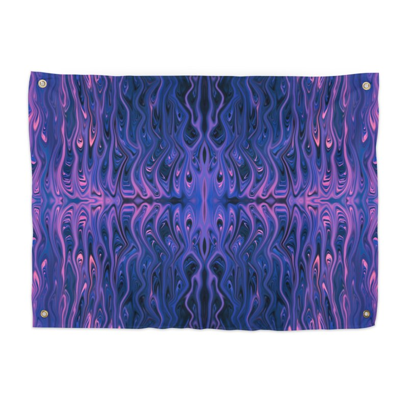 Bubblegum Squid by Chris Sparks Home Tapestry by Chris Sparks' Abstract Art Shop