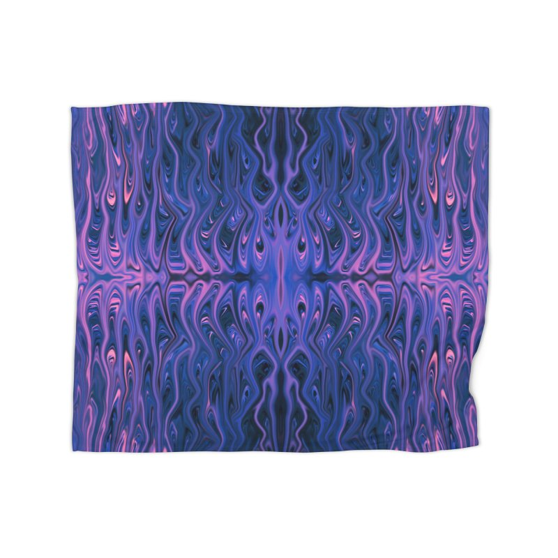 Bubblegum Squid by Chris Sparks Home Blanket by Chris Sparks' Abstract Art Shop