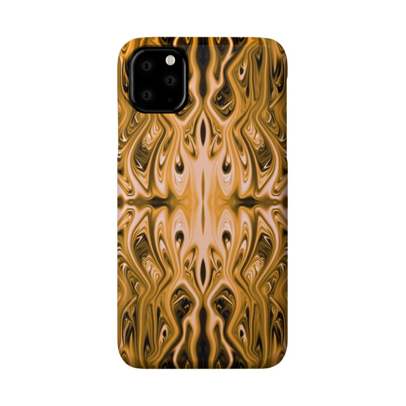 Antique Gold Squid by Chris Sparks Accessories Phone Case by Chris Sparks' Abstract Art Shop