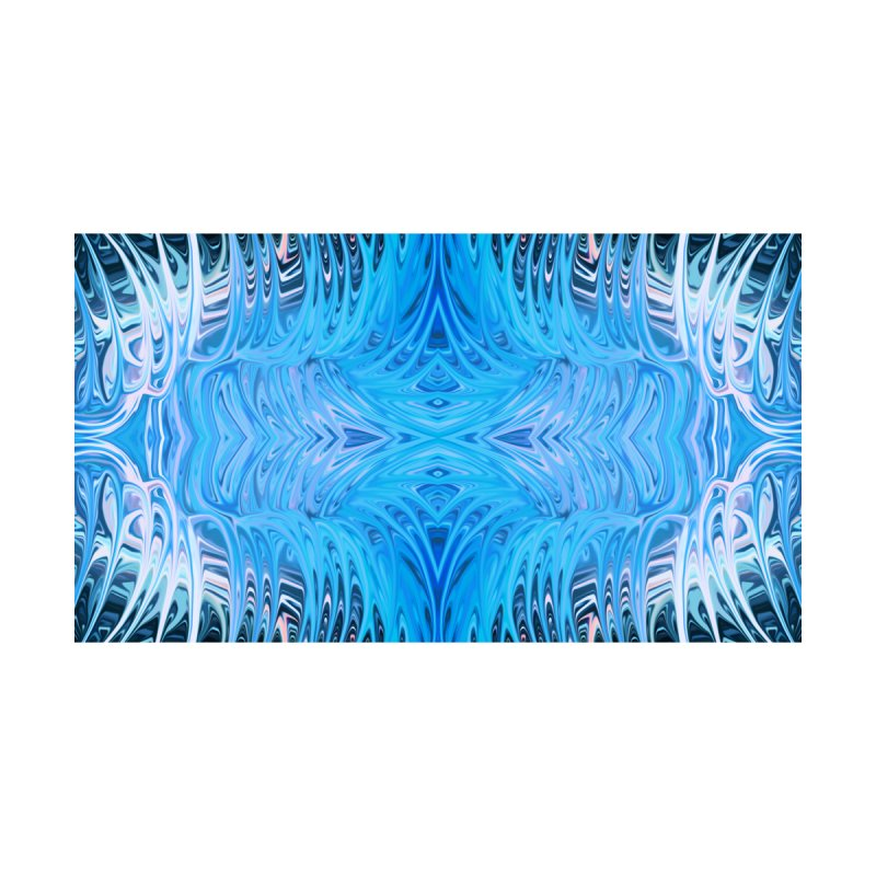 Aqua Venus Love Trap I by Chris Sparks by Chris Sparks' Abstract Art Shop