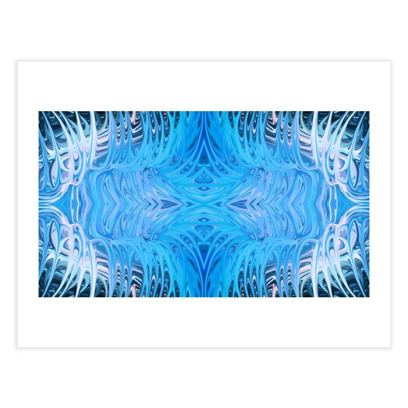 Aqua Venus Love Trap I by Chris Sparks Home Fine Art Print by Chris Sparks' Abstract Art Shop
