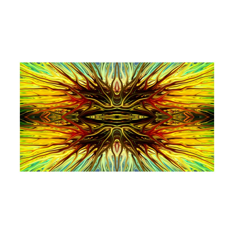 Firethorn by Chris Sparks by Chris Sparks' Abstract Art Shop