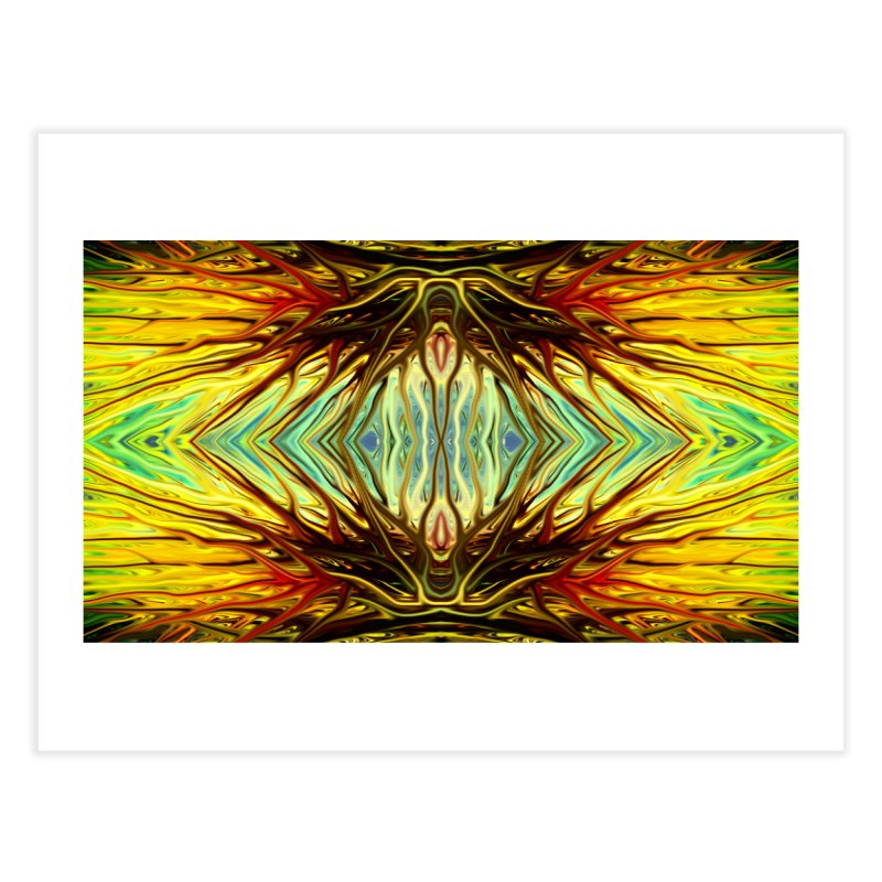 Firethorn II by Chris Sparks Home Fine Art Print by Chris Sparks' Abstract Art Shop