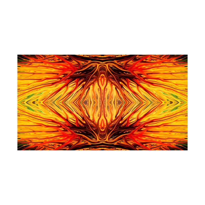 Orange Firethorn II by Chris Sparks by Chris Sparks' Abstract Art Shop