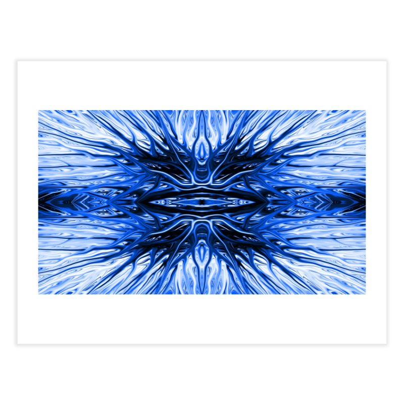 Blueberry Firethorn I by Chris Sparks Home Fine Art Print by Chris Sparks' Abstract Art Shop