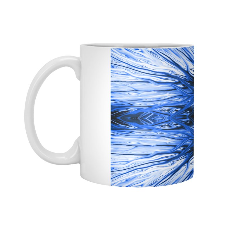 Blueberry Firethorn I by Chris Sparks Accessories Mug by Chris Sparks' Abstract Art Shop