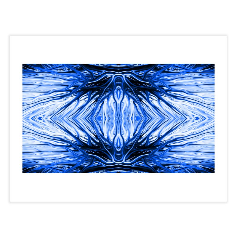 Blueberry Firethorn II by Chris Sparks Home Fine Art Print by Chris Sparks' Abstract Art Shop