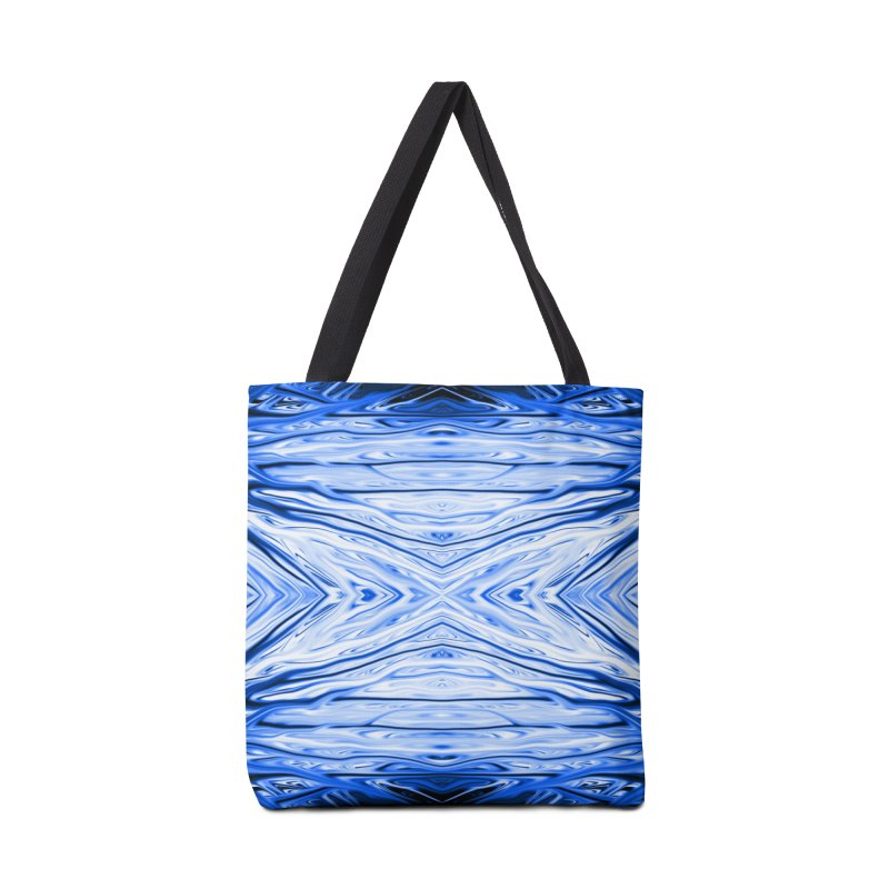 Blueberry Firethorn III by Chris Sparks Accessories Bag by Chris Sparks' Abstract Art Shop