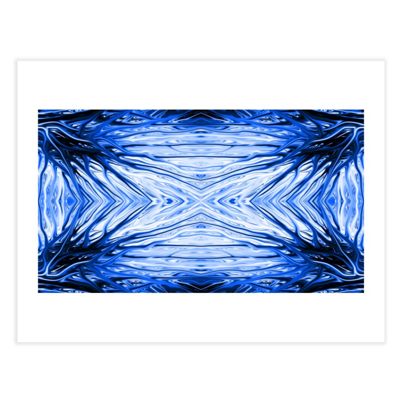 Blueberry Firethorn III by Chris Sparks Home Fine Art Print by Chris Sparks' Abstract Art Shop