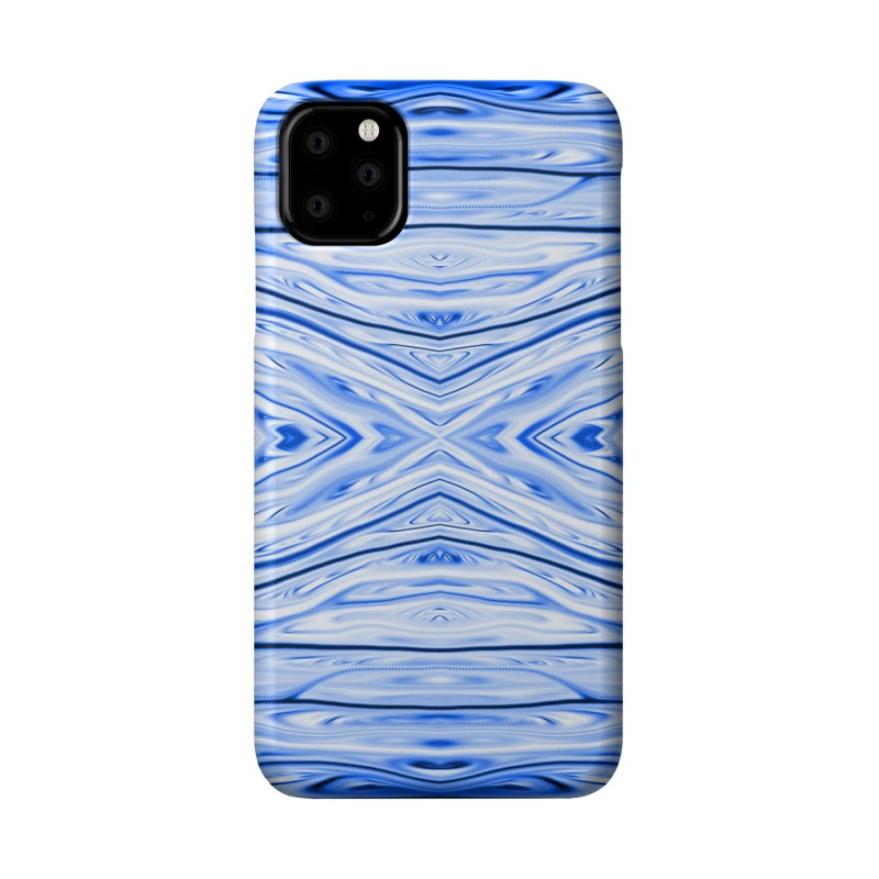 Blueberry Firethorn III by Chris Sparks Accessories Phone Case by Chris Sparks' Abstract Art Shop