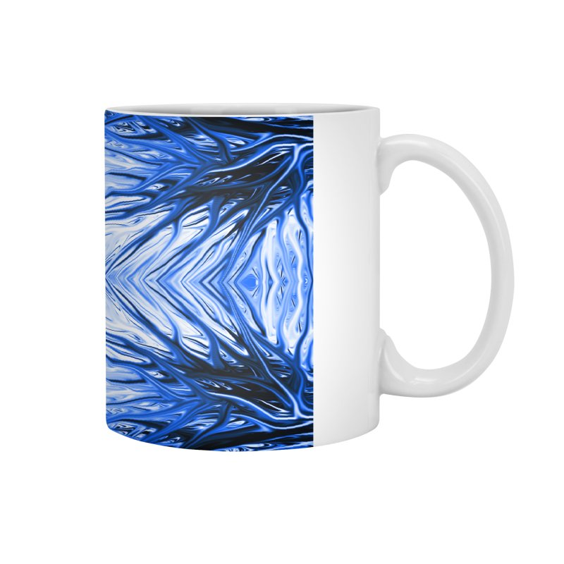 Blueberry Firethorn III by Chris Sparks Accessories Mug by Chris Sparks' Abstract Art Shop