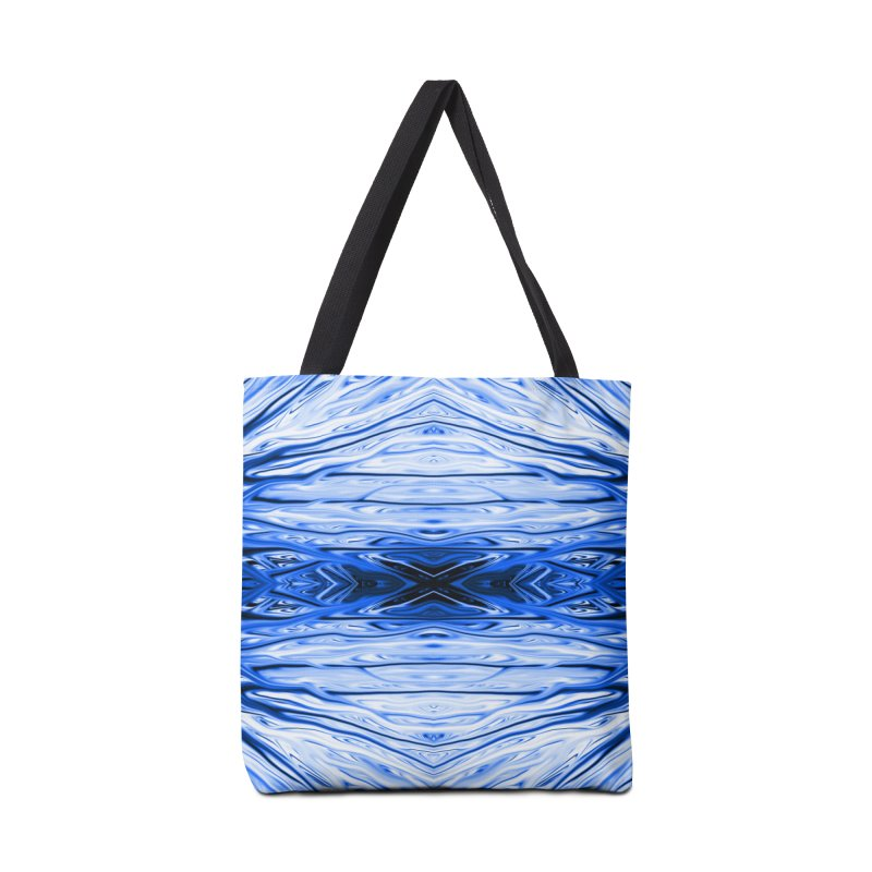 Blueberry Firethorn IV by Chris Sparks Accessories Tote Bag Bag by Chris Sparks' Abstract Art Shop