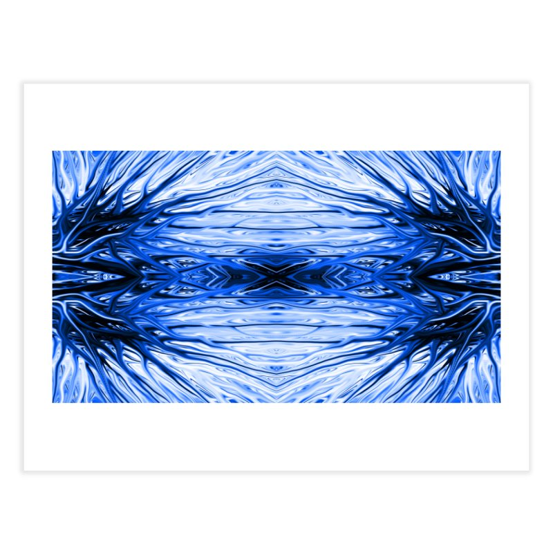 Blueberry Firethorn IV by Chris Sparks Home Fine Art Print by Chris Sparks' Abstract Art Shop