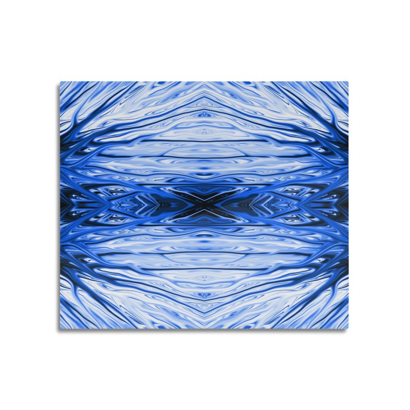 Blueberry Firethorn IV by Chris Sparks Home Mounted Aluminum Print by Chris Sparks' Abstract Art Shop
