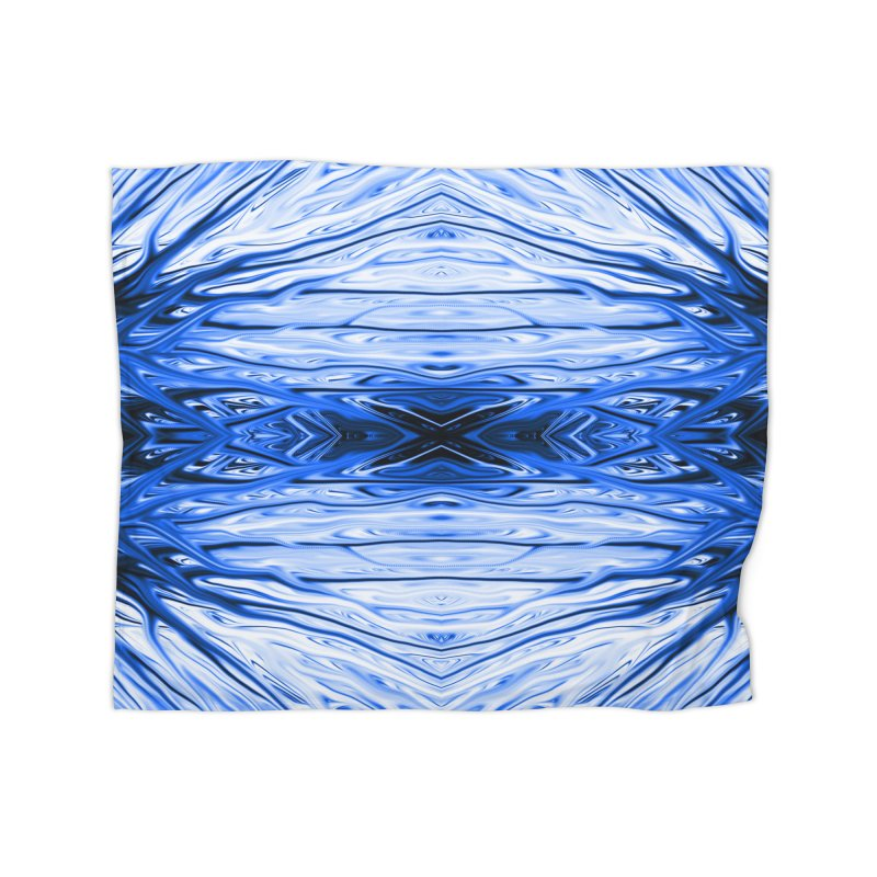 Blueberry Firethorn IV by Chris Sparks Home Blanket by Chris Sparks' Abstract Art Shop