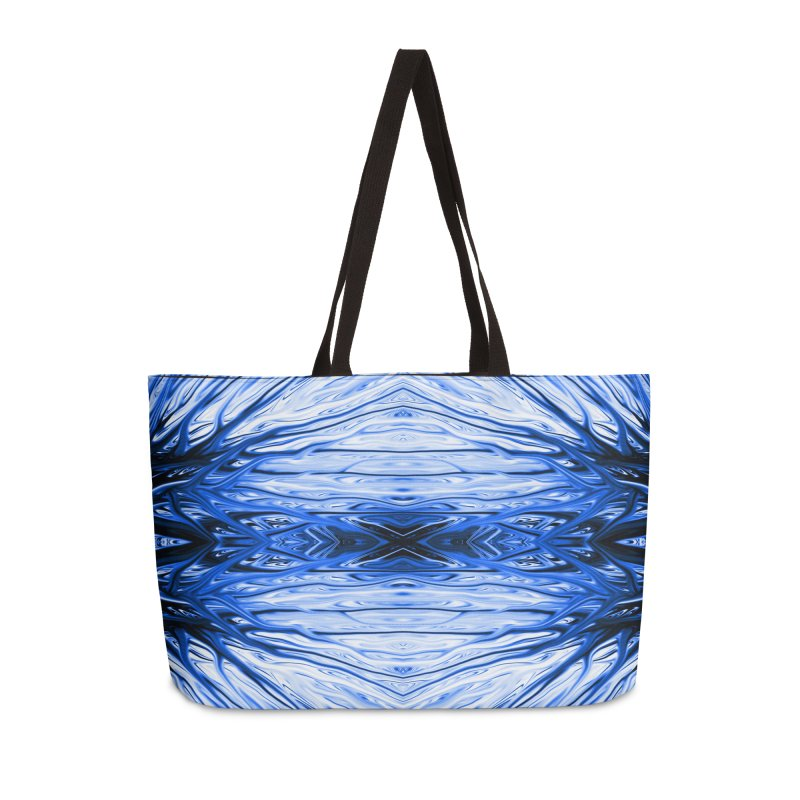 Blueberry Firethorn IV by Chris Sparks Accessories Weekender Bag Bag by Chris Sparks' Abstract Art Shop