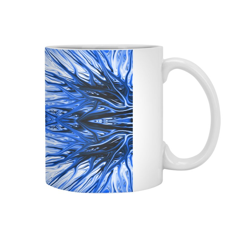 Blueberry Firethorn IV by Chris Sparks Accessories Mug by Chris Sparks' Abstract Art Shop