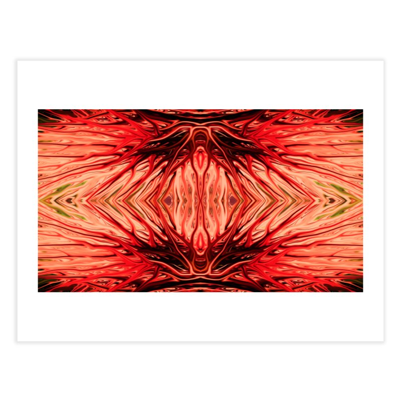 Strawberry Firethorn II by Chris Sparks Home Fine Art Print by Chris Sparks' Abstract Art Shop