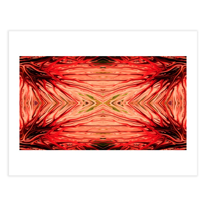 Strawberry Firethorn III by Chris Sparks Home Fine Art Print by Chris Sparks' Abstract Art Shop