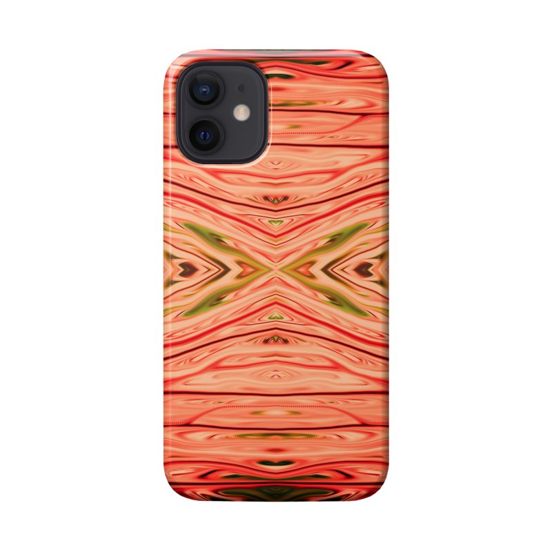 Strawberry Firethorn III by Chris Sparks Accessories Phone Case by Chris Sparks' Abstract Art Shop