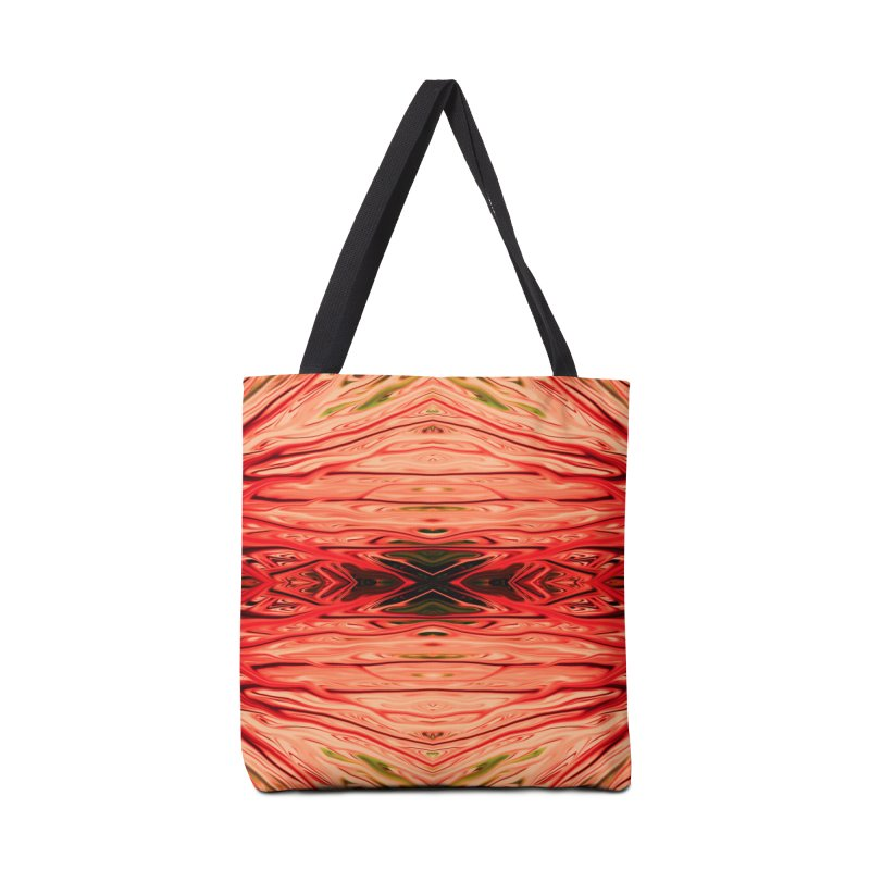 Strawberry Firethorn IV by Chris Sparks Accessories Tote Bag Bag by Chris Sparks' Abstract Art Shop