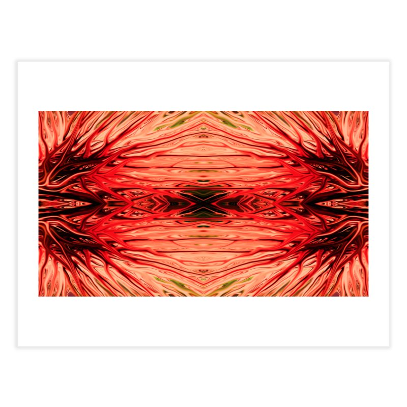 Strawberry Firethorn IV by Chris Sparks Home Fine Art Print by Chris Sparks' Abstract Art Shop
