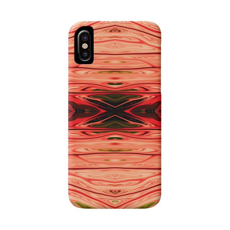 Strawberry Firethorn IV by Chris Sparks Accessories Phone Case by Chris Sparks' Abstract Art Shop