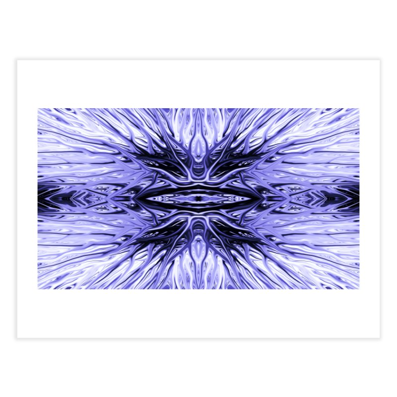 Grape Ice Firethorn I by Chris Sparks Home Fine Art Print by Chris Sparks' Abstract Art Shop