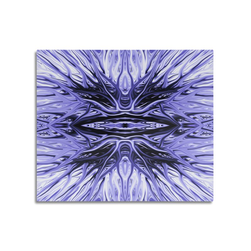 Grape Ice Firethorn I by Chris Sparks Home Mounted Acrylic Print by Chris Sparks' Abstract Art Shop