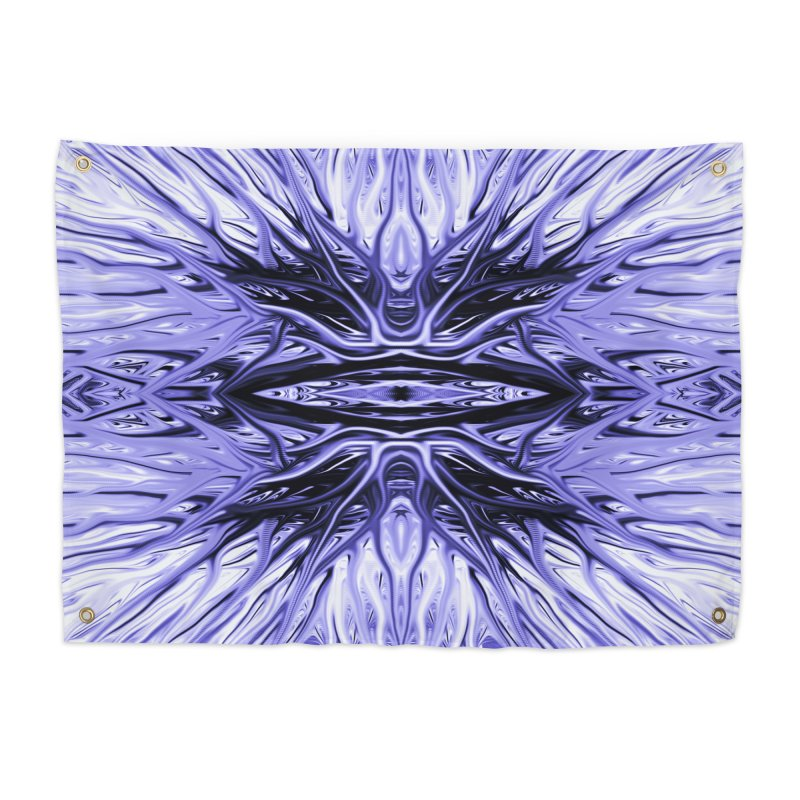 Grape Ice Firethorn I by Chris Sparks Home Tapestry by Chris Sparks' Abstract Art Shop