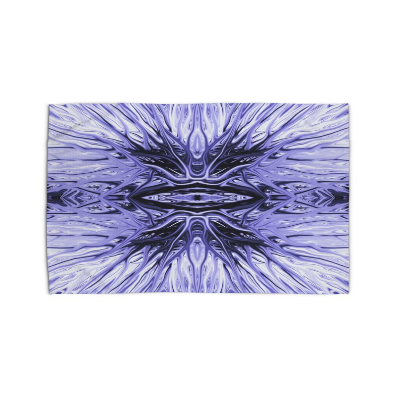 Grape Ice Firethorn I by Chris Sparks Home Rug by Chris Sparks' Abstract Art Shop