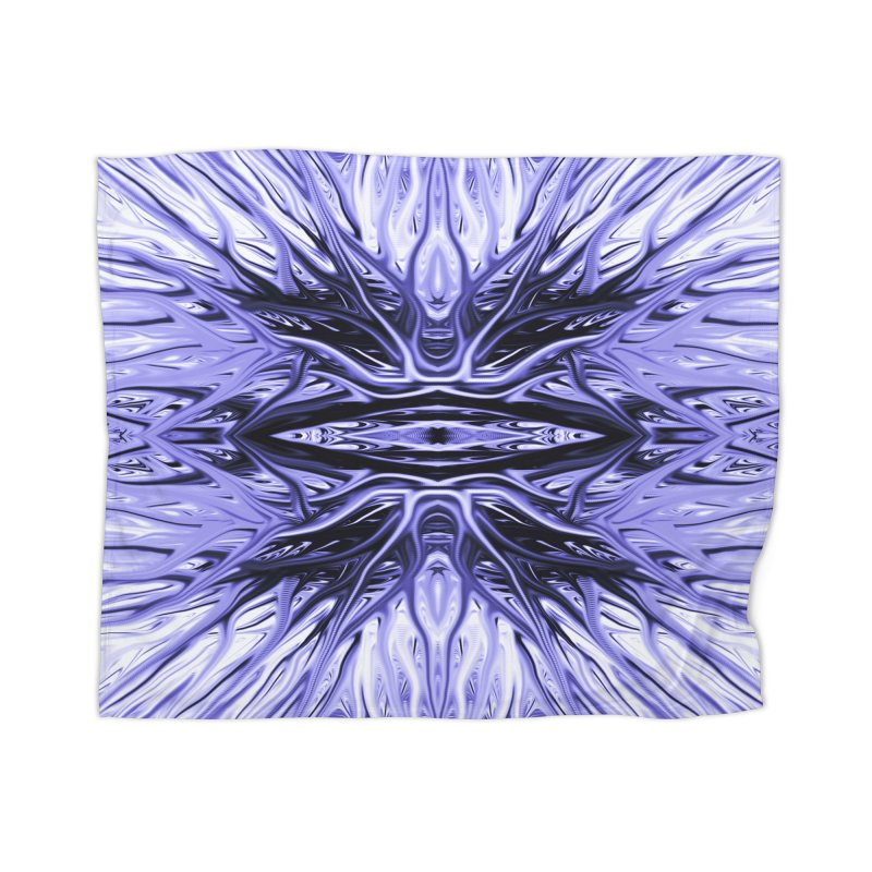 Grape Ice Firethorn I by Chris Sparks Home Blanket by Chris Sparks' Abstract Art Shop