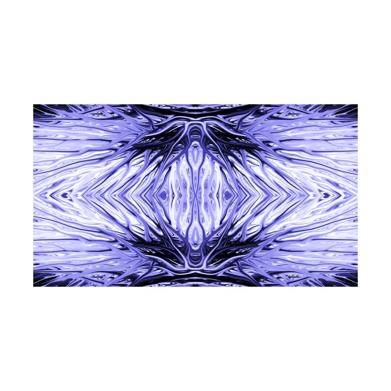 Grape Ice Firethorn II by Chris Sparks Home Blanket by Chris Sparks' Abstract Art Shop