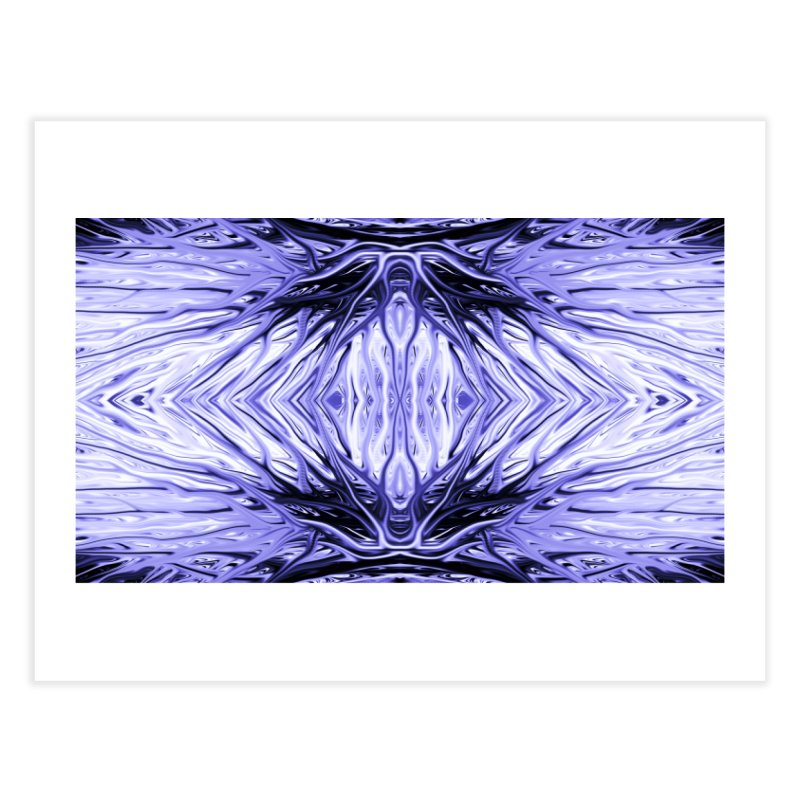 Grape Ice Firethorn II by Chris Sparks Home Fine Art Print by Chris Sparks' Abstract Art Shop