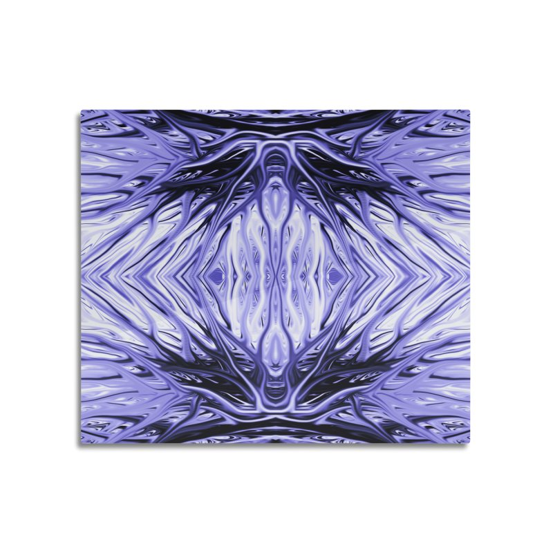 Grape Ice Firethorn II by Chris Sparks Home Mounted Aluminum Print by Chris Sparks' Abstract Art Shop