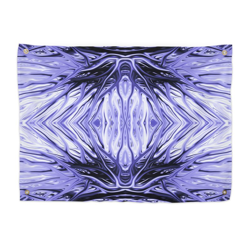 Grape Ice Firethorn II by Chris Sparks Home Tapestry by Chris Sparks' Abstract Art Shop