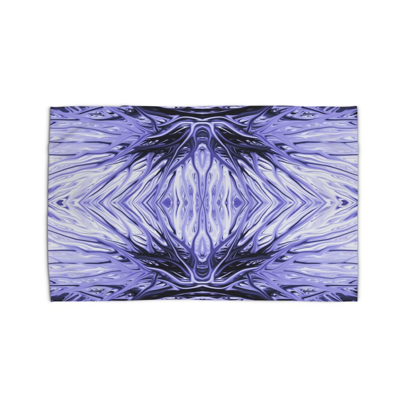 Grape Ice Firethorn II by Chris Sparks Home Rug by Chris Sparks' Abstract Art Shop