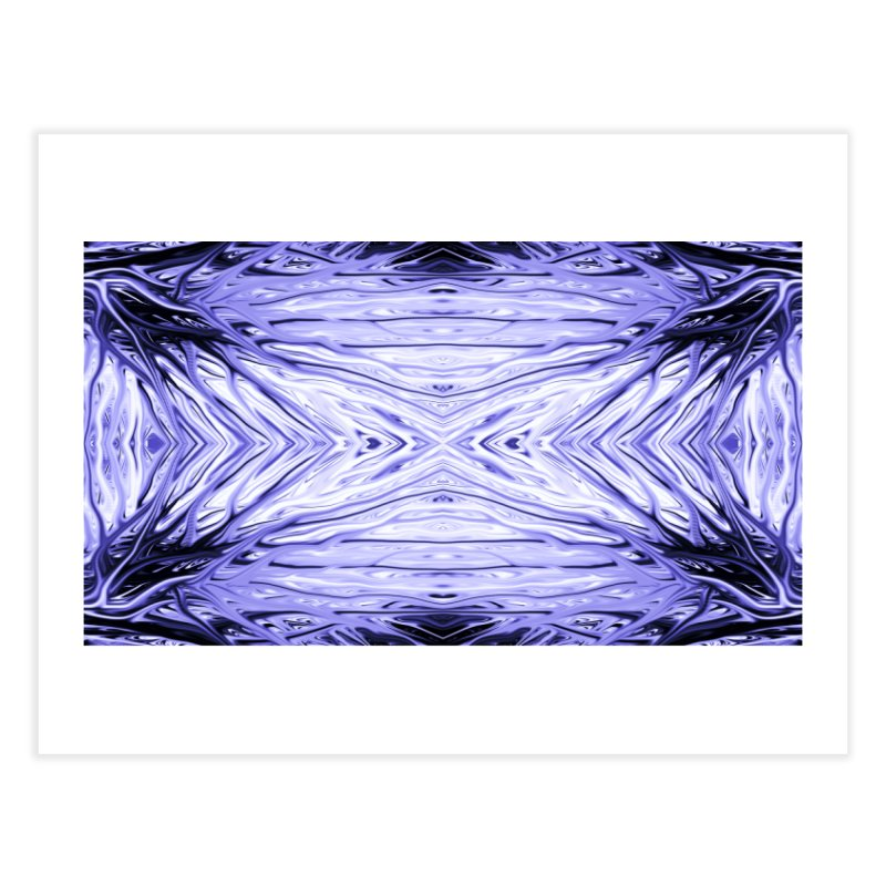 Grape Ice Firethorn III by Chris Sparks Home Fine Art Print by Chris Sparks' Abstract Art Shop