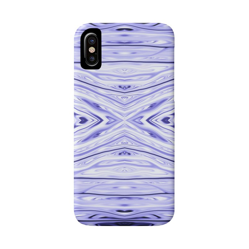 Grape Ice Firethorn III by Chris Sparks Accessories Phone Case by Chris Sparks' Abstract Art Shop