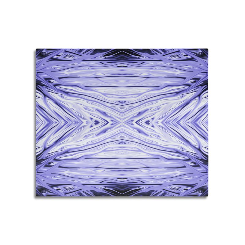 Grape Ice Firethorn III by Chris Sparks Home Mounted Acrylic Print by Chris Sparks' Abstract Art Shop