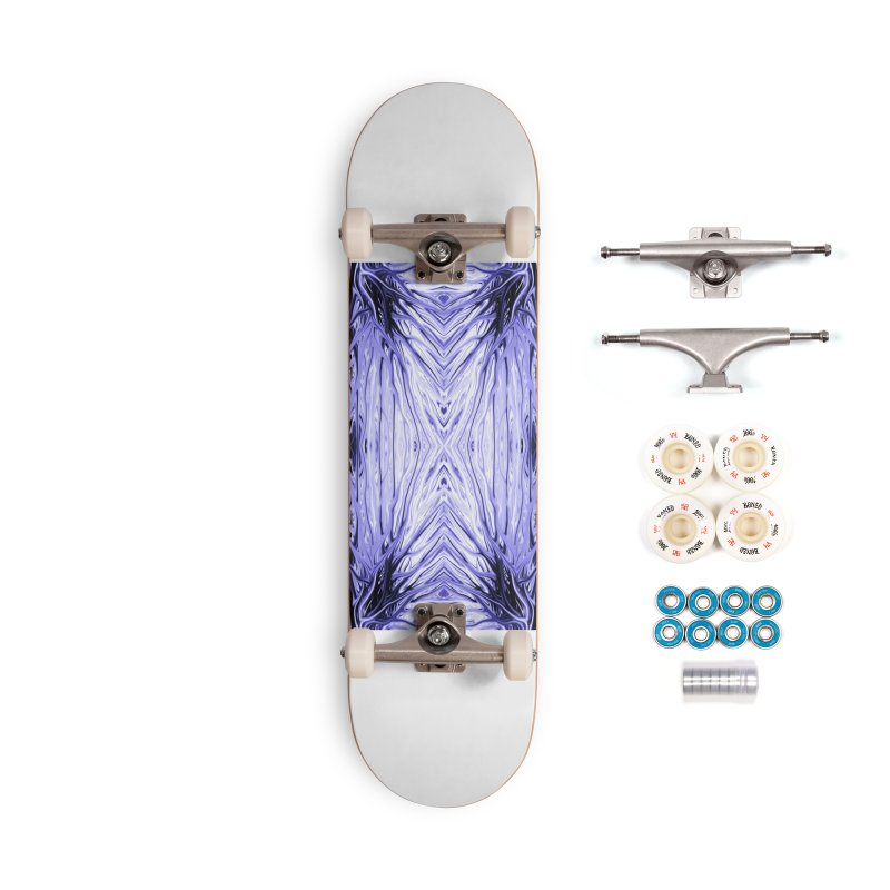 Grape Ice Firethorn III by Chris Sparks Accessories Complete - Premium Skateboard by Chris Sparks' Abstract Art Shop