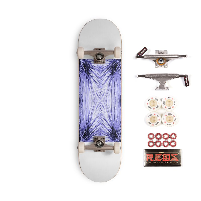 Grape Ice Firethorn III by Chris Sparks Accessories Complete - Pro Skateboard by Chris Sparks' Abstract Art Shop